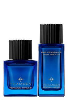 Подарочный набор Peacock Throne: парфюмерная вода и вуаль для волос.