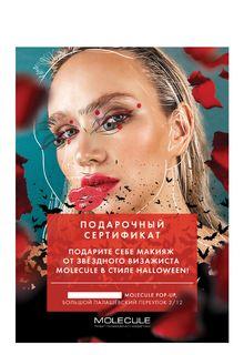 Сертификат на макияж Halloween