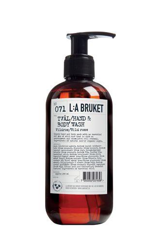 071 Жидкое мыло для тела и рук Дикая роза (L:a Bruket)