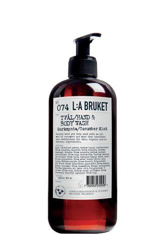 074 Жидкое мыло для тела и рук Огурец/Мята (L:a Bruket)