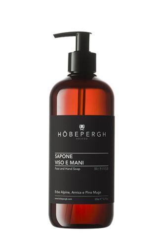 Жидкое мыло для лица и рук (HOBEPERGH)