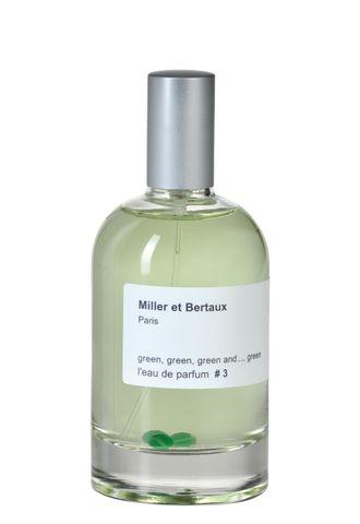 Парфюмерная вода Green,Green, Green and... Green #3 (Miller et Bertaux)