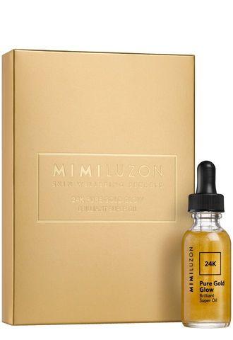 Масло для лица придающее сияние 24K Pure Gold Glow (Mimi Luzon)