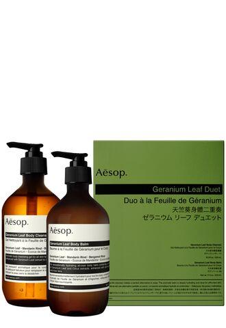 Набор средств для тела Geranium Leaf Duet (Aesop)
