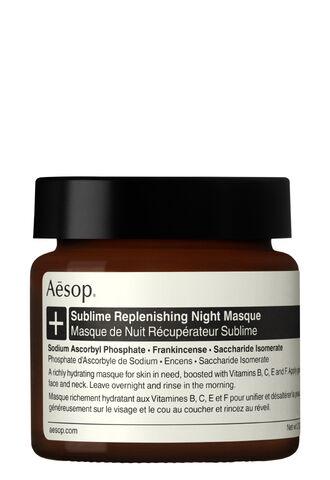 Восстанавливающая ночная маска для лица Sublime (Aesop)