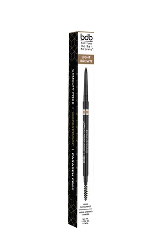 Brows on Point: Light Brown ультратонкий водостойкий карандаш для бровей (Billion Dollar Brows)