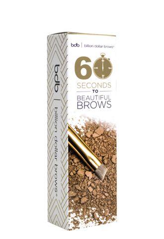 60 Seconds to Beautiful Brows набор средств для бровей (Billion Dollar Brows)