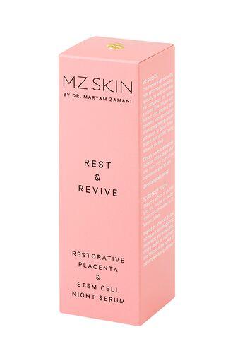Rest & Revive сыворотка для лица ночная восстанавливающая с плацентой и фито-стволовыми клетками (MzSkin)