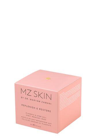 Replenish & Restore маска для лица ночная восстанавливающая с плацентой и фито-стволовыми клетками (MZ Skin)